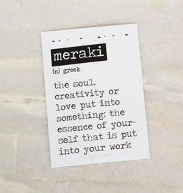 Card Meraki