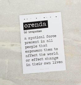 Card Orenda