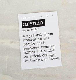 Kaart Orenda