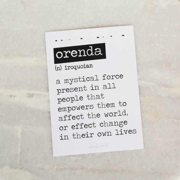 Bobini Roots Card | Orenda