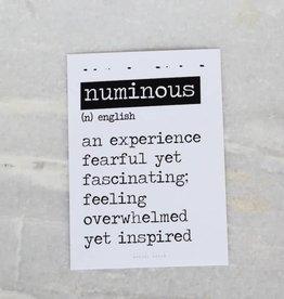 Kaart Numinous