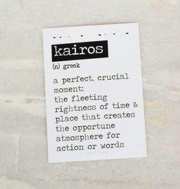 Card Kairos