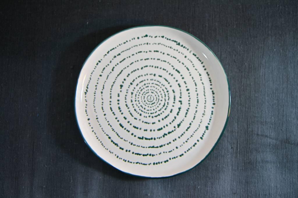 Plate Kuba Art