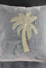 À la Velvet Pillow Palm
