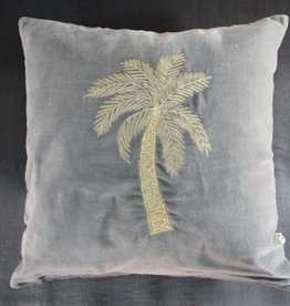 A-la Makkamalee | Pillow Palm Blue