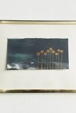 Original Drawing 'Golden Palms'