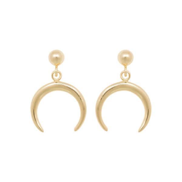 Eline Rosina Earrings Tusk - Gold