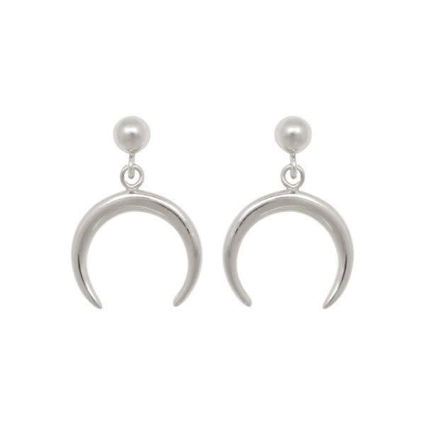 Eline Rosina Earring Tusk - Silver