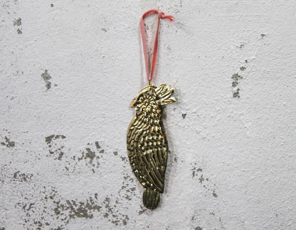 Christmas Hanger Parrot