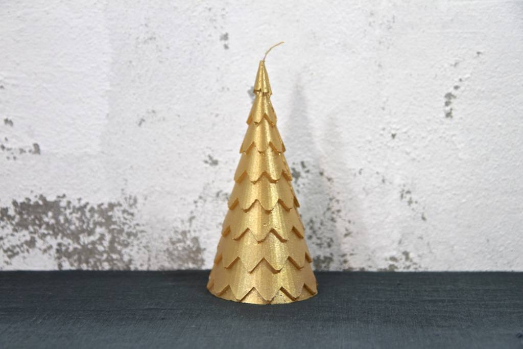 Christmas Candle Tree - Gold