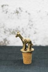 Giraffe Bottle Stopper