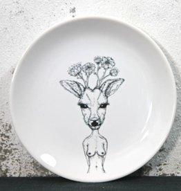 Plate Oh My Deer