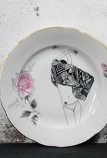 Plate Blow Away Dress - mini
