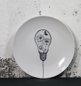 Oh you pretty plates | Plate Lamp