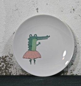 Plate Ballerina Croco