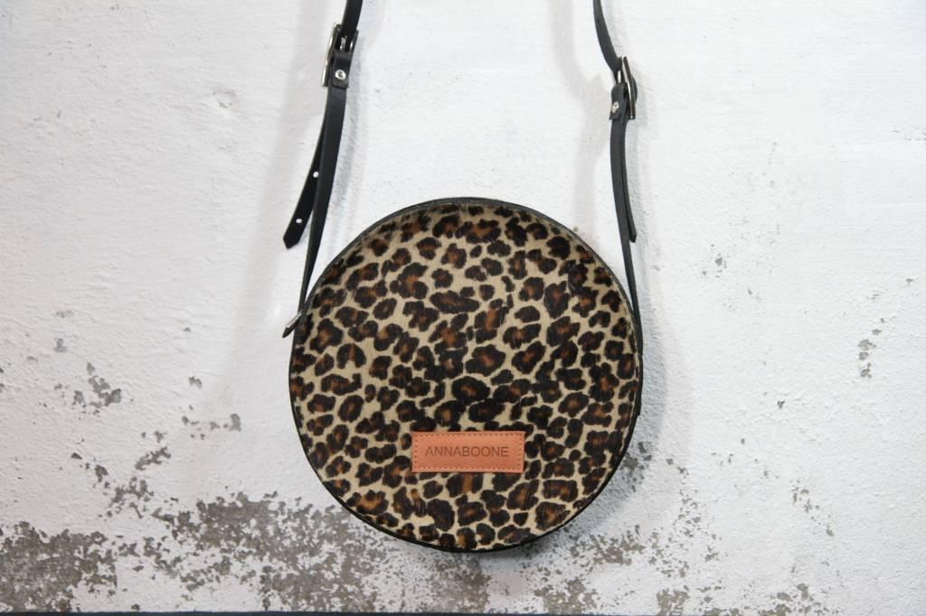 Anna Round Bag | Leopard