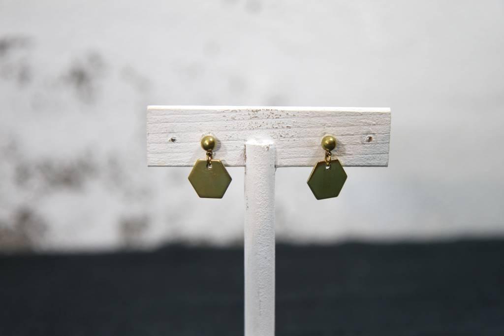 Earrings Hexa