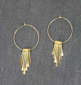 Earrings Waterfall