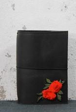 Notebook A6 - Red Flower