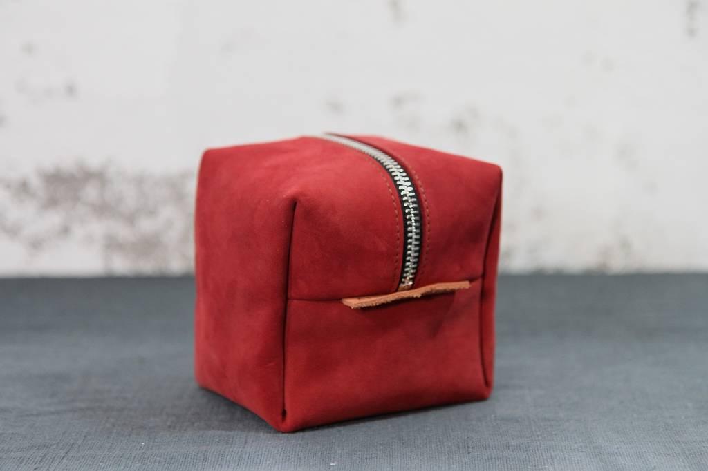 Cube Etui - Red
