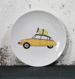 Plate Citroen