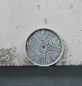 Plate African Labyrinth