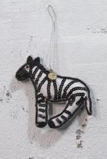 Christmas Hanger Silly Zebra