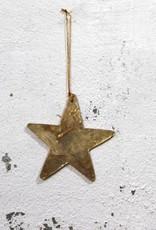 Christmas Hanger Star GOLD