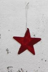 Christmas Hanger Star RED
