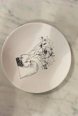 Plate Smoking Birds