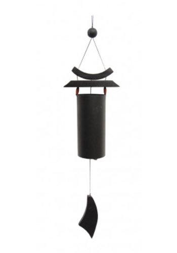 Yogi & Yogini naturals Windgong Zen zwart (12x6x58 cm)