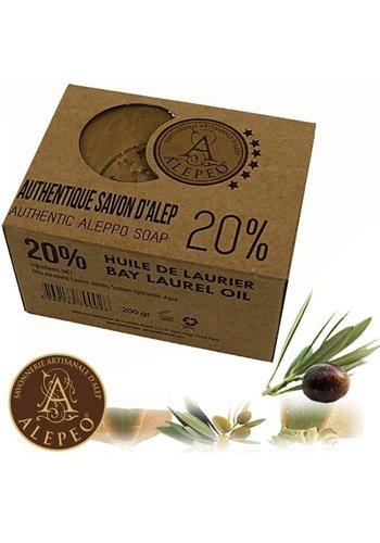 Yogi & Yogini naturals Zeep Aleppo 20% laurierolie (190 gram)