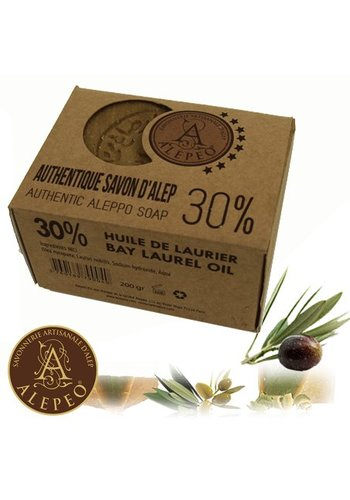 Yogi & Yogini naturals Zeep Aleppo 30% laurierolie (200 gram)