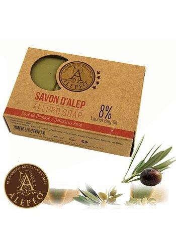 Najel Aleppo Zeep Aleppo Damascus roos (100 gram)