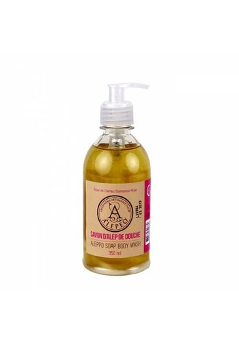 Aleppo zeep Body wash Aleppo roos (350 ml)