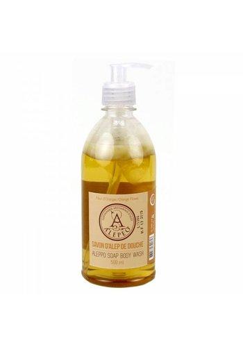 Aleppo zeep Body wash Aleppo oranjebloesem (500 ml)