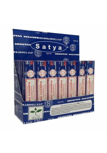 Satya Display Wierook Satya Nag Champa (42x 15 gram)