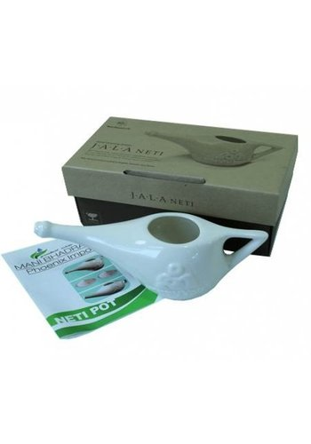 Yogi & Yogini naturals Neti Pot in giftbox (incl. 25 gram zout)
