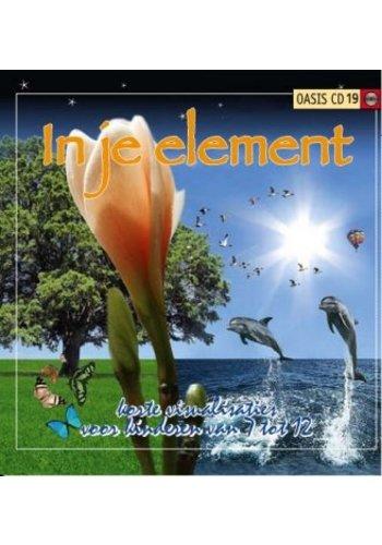 Yogi & Yogini naturals In je Element visualisaties voor kinderen (Oasis cd 19)
