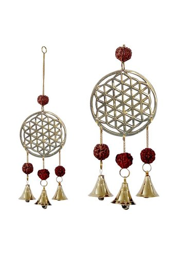 Yogi & Yogini naturals Windbel Flower of Life (27 cm)