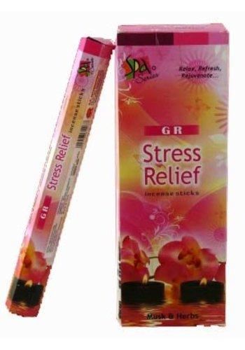 Yogi & Yogini naturals Wierook Stress Relief hexagram (20 gram)
