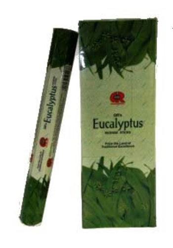 Yogi & Yogini naturals Wierook Eucalyptus hexagram pak