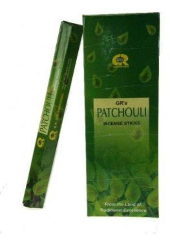 Yogi & Yogini naturals Wierook Patchouli hexagram (20 gram)