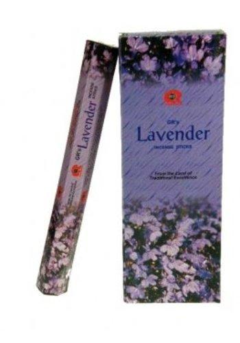 Yogi & Yogini naturals Wierook Lavendel hexagram (20 gram)