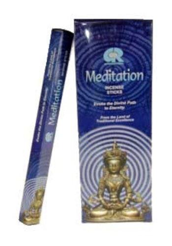 Yogi & Yogini naturals Wierook Meditation hexagram (20 gram)