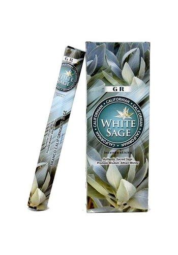 Yogi & Yogini naturals Wierook Witte Salie hexagram (20 gram)