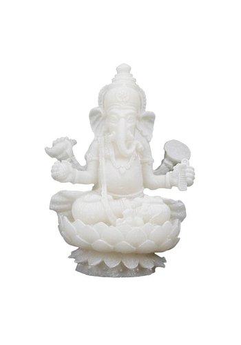 Yogi & Yogini naturals Ganesha beeldje (± 10 cm)