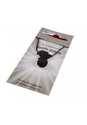 Yogi & Yogini naturals Tibetaanse amulet Nagpo Gujor (beschermer van gezondheid)