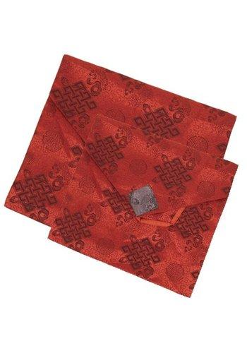 Yogi & Yogini naturals Brokaat boekomslag rood groot