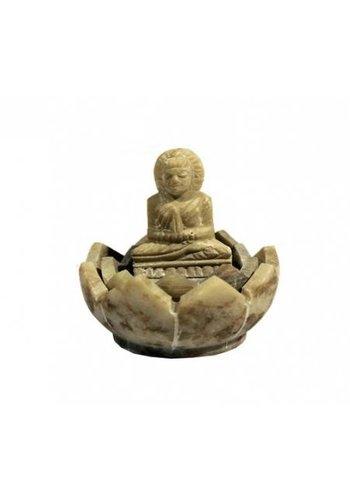 Yogi & Yogini naturals Wierookbrander Boeddha zeepsteen